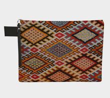 Load image into Gallery viewer, vintage berber pattern purse