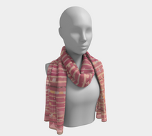 Load image into Gallery viewer, Pink bohemian scarf moroccan and berber style