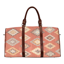 Load image into Gallery viewer, Geometric pattern boho travel bag Waterproof Travel Bag/Small (Model 1639)