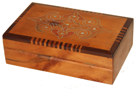 Thuya wood box Cedar wood