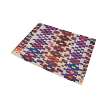 Load image into Gallery viewer, Berber rug square pattern Area Rug7'x5'