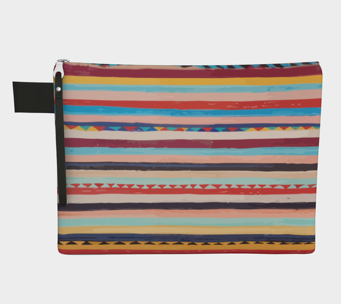Moroccan berber purse with many colors