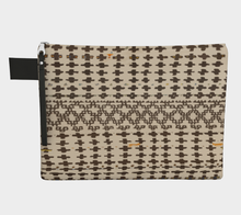 Load image into Gallery viewer, Berber vintage zipper carry-all with bohemian patterns