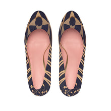 Load image into Gallery viewer, Women's Ethnic Platform Heels with Moroccan and Berber patterns