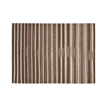 Load image into Gallery viewer, Brown lines Moroccan Rug