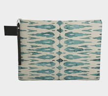 Load image into Gallery viewer, Blue and white Moroccan purse inspiration