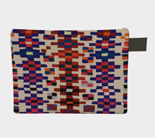 Load image into Gallery viewer, Vintage berber zipper carry-all bohemian pattern