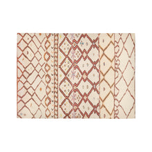 Load image into Gallery viewer, Moroccan rug berber and beige berber patterns inspiration Area Rug7'x5'