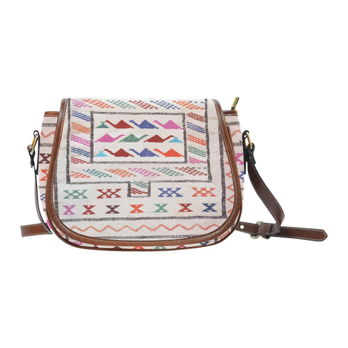 Berber inspiration bag Saddle Bag/Large (Model 1649)
