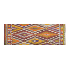 Load image into Gallery viewer, Multicoloure boho psychedelic Moroccan Area Rug 10'x3'3''