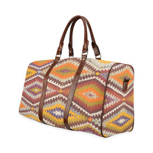 Load image into Gallery viewer, Vintage boho travel bag Waterproof Travel Bag/Small (Model 1639)