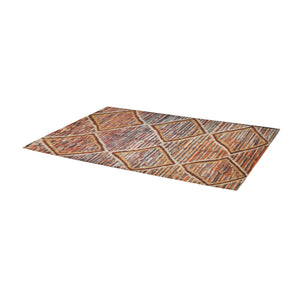 Moroccan and berber geometric pattern Rug 10'x3'3''