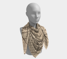 Load image into Gallery viewer, Moroccan inspired scarf