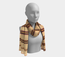 Load image into Gallery viewer, Moroccan style berber scarf with patterns