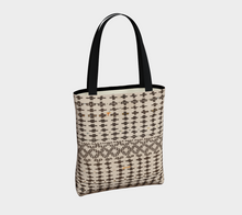 Load image into Gallery viewer, Moroccan inspired Bohemian tote bag with berber pattern