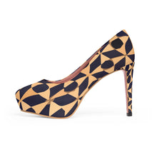 Load image into Gallery viewer, Platform Heels Arabesque patterns