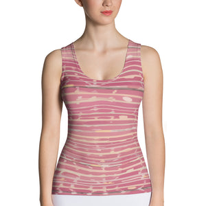 Sublimation Cut & Sew Pink Tank Top