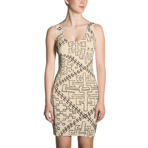 Ethnic beber inspired dress