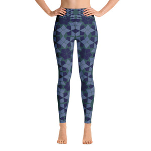 Yoga Leggings - Boho Arabesque