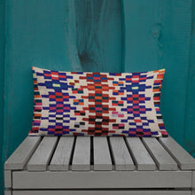 Load image into Gallery viewer, Moroccan Pillow style pattern berber inspiration vintage and bohemian