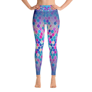 Yoga Leggings - Artsy colorful patterns