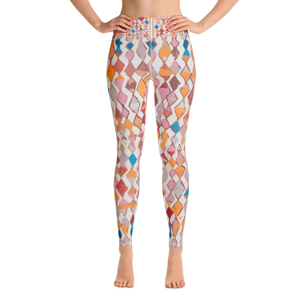 Yoga Leggings - Boho modern patterns