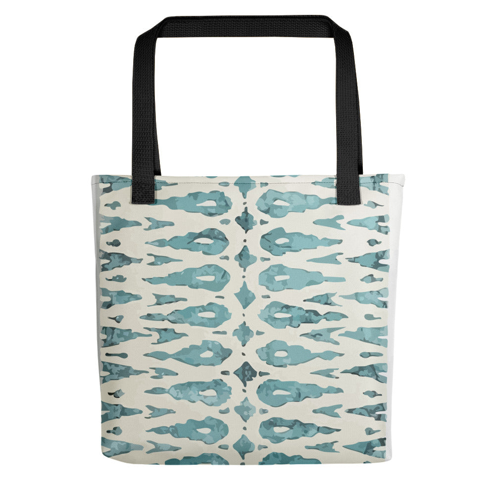 Blue Moroccan bag