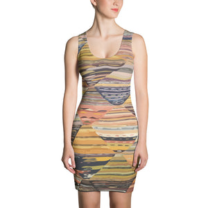 Sublimation Cut & Sew Colorful ethnic  Dress