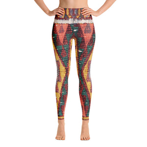 colorful ethnic leggings