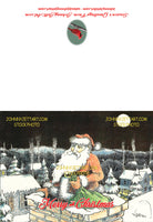 JohnnyJettArt Christmas Cards (Santa)