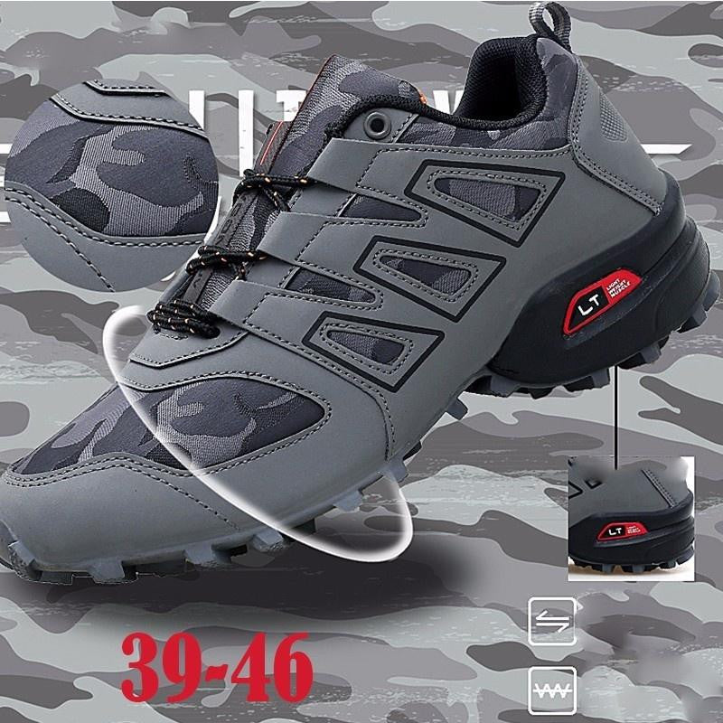 Mens Skid Resistant Hiking Shoes Waterproof Mountain Boots Climbing Shoes Outdoors - adventuresinoutdoorfun.com, Safety & Survival,