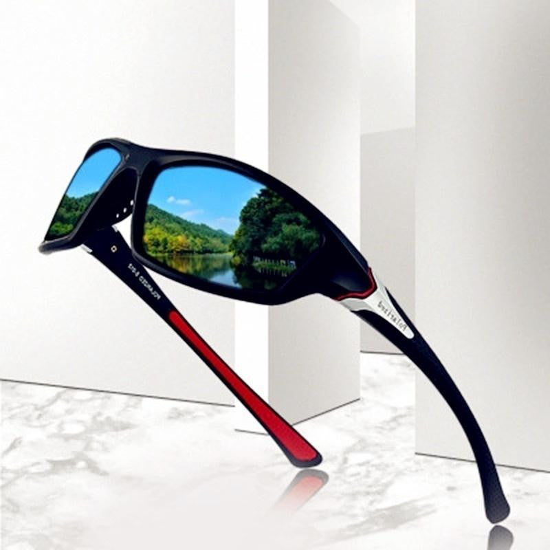 Fashion HD Polarized UV400 Sunglasses Men Polarized Riding Cycling Fishing Sunglasses Outdoor Sports Driving Sunglasses Polarize - adventuresinoutdoorfun.com, Biking,
