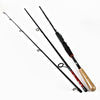 FISH KING Carbon 1.8M 2.1M 2.4M 2.7M 3 Section Lure Weight 10-30g Line  5-25LB Bait Hard Fishing Rod