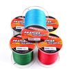 New 2019 Fishing Line 300M PE Braided Fishing Line 4 Strand 6-100LB Multifilament Fishing Wire 5 Colors