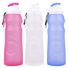 Silicone Foldable Water Bottle - Perfect for Running, Biking, Jogging, Hiking, Camping, Picnic, Yoga and Travel etc. - adventuresinoutdoorfun.com, Sports & Outdoor,