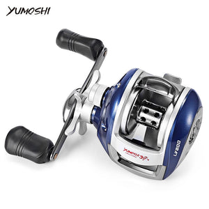 YUMOSHI Left / Right Hand 12+1BB 6.3:1 Bait Casting Fishing Reel Magnetic Brake Water Drop Wheel Coil