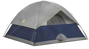 Coleman  2-Person Sundome Tent, Navy: Sports & Outdoors