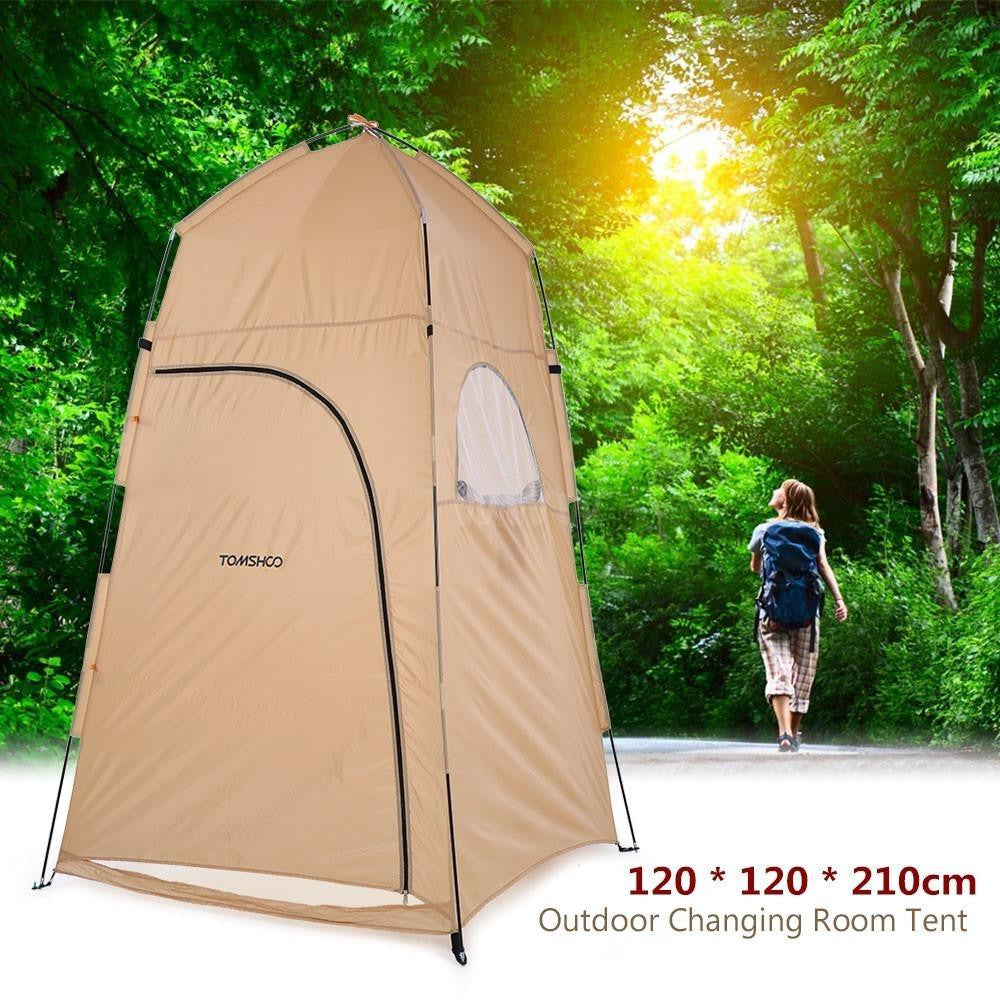 Portable Tent Camping Outdoor Shower Toilet Bath Changing Tent Room - adventuresinoutdoorfun.com, Camping,