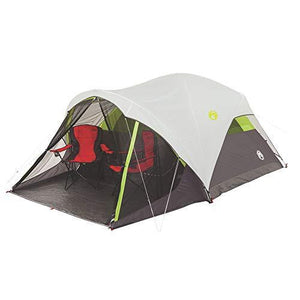 Coleman Steel Creek Fast Pitch Dome Tent with Screen Room, 6-Person : Gateway - adventuresinoutdoorfun.com, Tent,