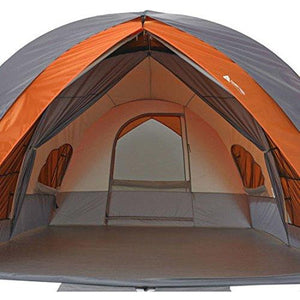 Ozark Trail 8-Person Dome Tunnel Tent With Full Fly For maximum Weather Protection : Gateway - adventuresinoutdoorfun.com, Tent,
