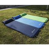 Freeland Camping Sleeping Pad Self Inflating with Attached Pillow, Compact, Lightweight, Large, Dark Navy Blue Color : Gateway - adventures-is-shopping