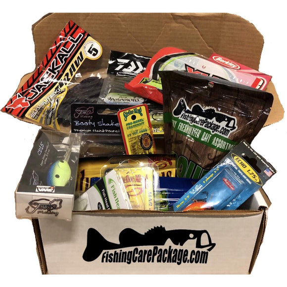 Fishing Care Package Fisherman's Dream Box - adventures-is-shopping
