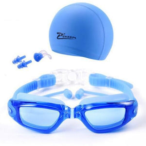 Myopia Swimming Goggles HD Shortsighted Swimming Glasses Diopter Spectacles Plating Lens Nearsighted Swim Pool Use 3pcs/set - adventuresinoutdoorfun.com, Swimming Goggles,