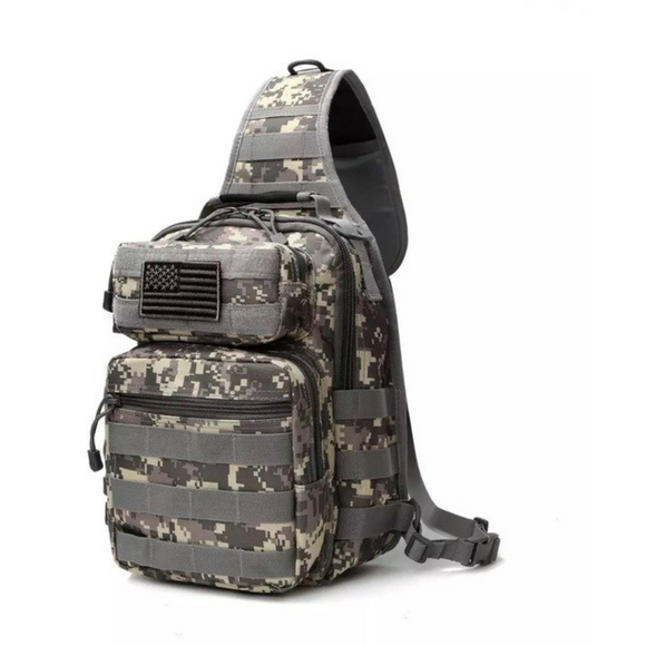 Tactical Military Sling Bag - adventures-is-shopping