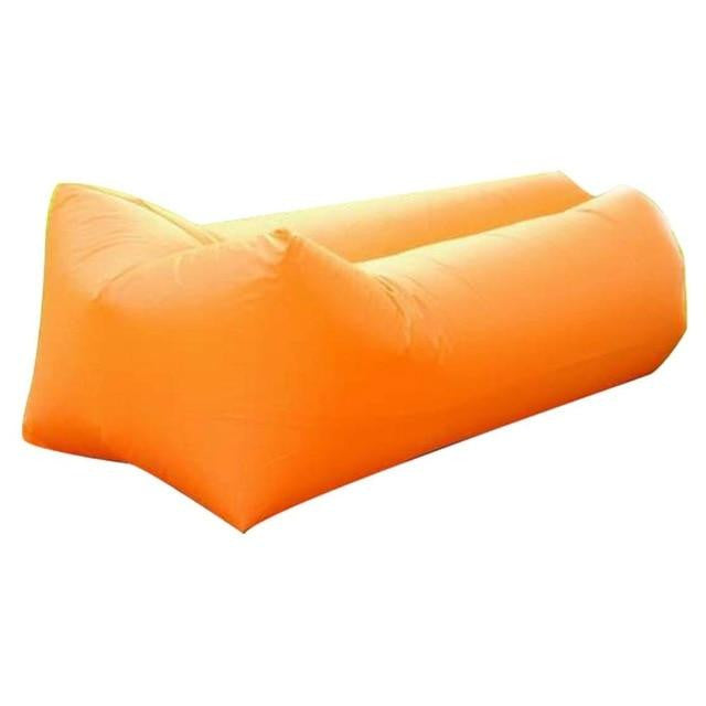 Inflatable Beach Sleeping Bag Folding Sofa Outdoor Camping Travel Relax Air Sleeping Bed Lazy Air Bag - adventuresinoutdoorfun.com, Inflatable,