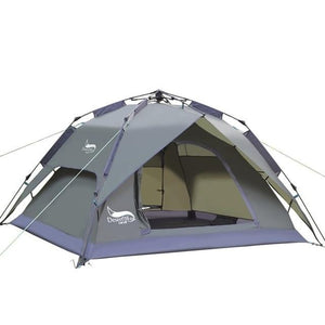 Desert&Fox Automatic Tent 3-4 Person Camping Tent,Easy Instant Setup Protable Backpacking for Sun Shelter,Travelling,Hiking - adventuresinoutdoorfun.com, Tent,