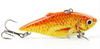 "Mmlong 2.5""/8.6g Vib Crankbait Lifelike Fishing Lure  Slow Sinking Hard Fish Wobbler Pes"