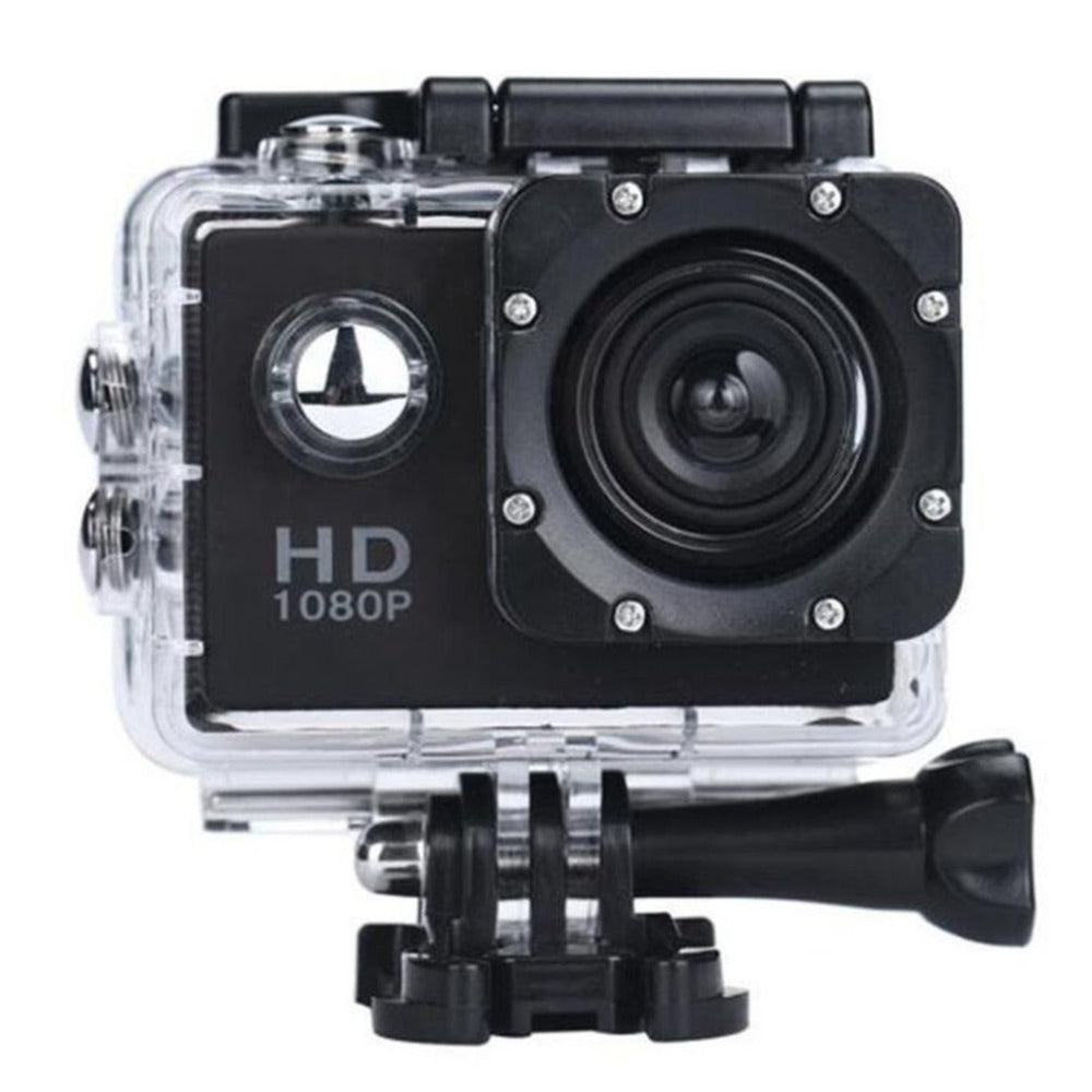 Waterproof Action Camera 1080P HD - adventuresinoutdoorfun.com, Audio & Video,