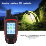Handheld GPS Receiver Navigation Outdoor Location GPS Tracker USB Rechargeable With Compass Outdoor Sport Travel Locator Finder