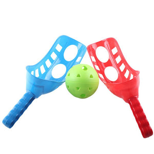 Fun Air Scoop Ball Toss Catching Game Summer Garden Funny Sport Game Catch Set For Child Kids Girls Boys Outdoor Yard